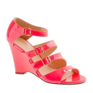 J. Crew patent leather sandal